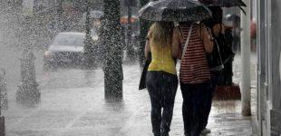 Κακοκαιρία και το Σαββατοκύριακο με βροχή και χαλάζι