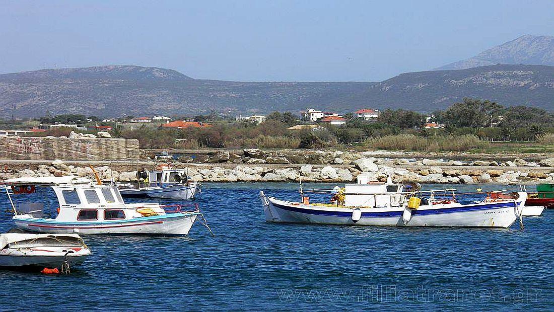 Αποτέλεσμα εικόνας για Αλιευτικό Καταφύγιο Μαραθόπολης